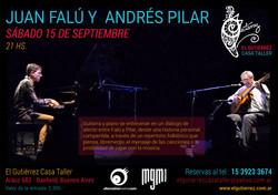 Juan Falú y Andres Pilar