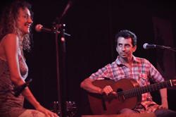 Luna Monti y Juan Quintero