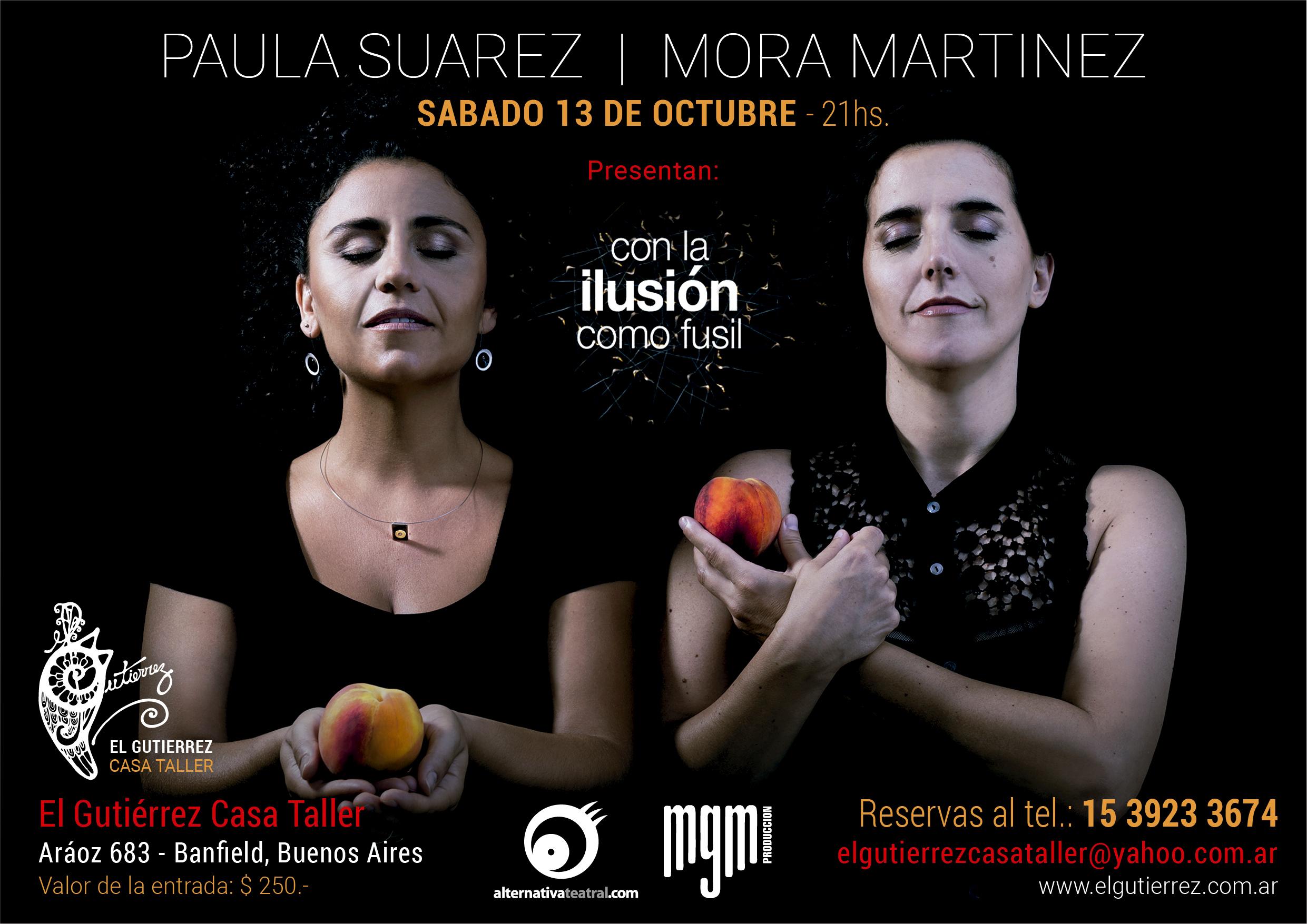 Mora Martinez y Paula Suarez