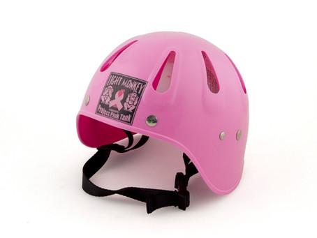Pink Helmets!