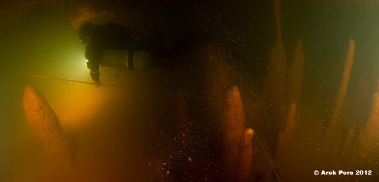 Low Visibility Cave Diving