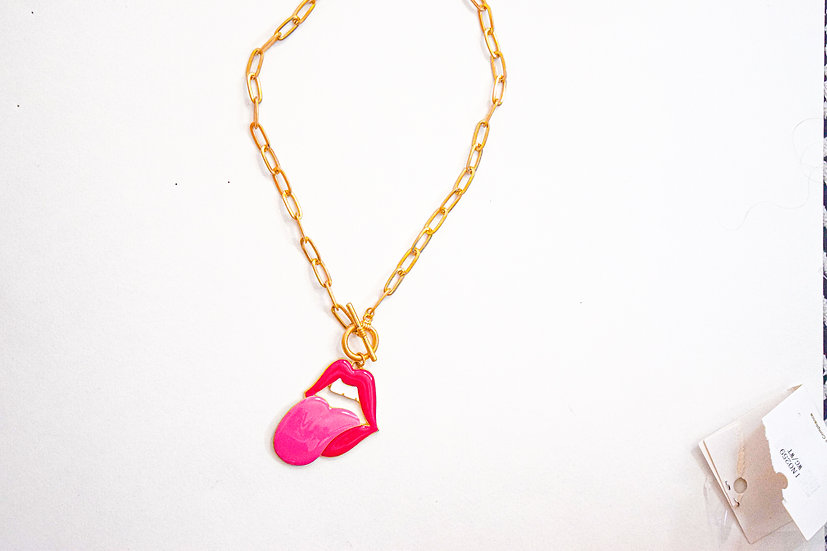Moves Like Jagger Necklace