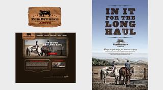 Zum Brunnen Ranch Branding