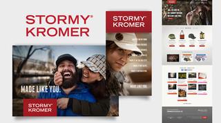 Stormy Kromer Branding
