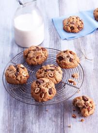 Cookies chocolat noisette sans gluten