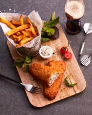 Bâtonnets de Colin d'Alaska façon Fish & Chips