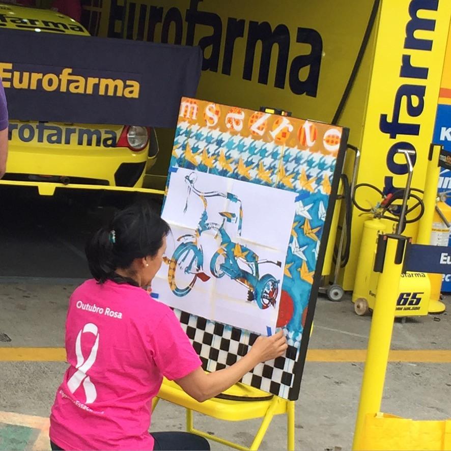 Pintura na Sotck Car