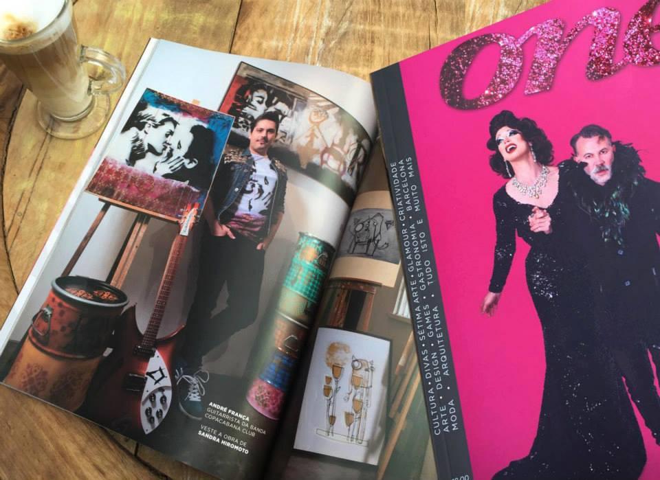 Arte e moda, 2015, Revista One
