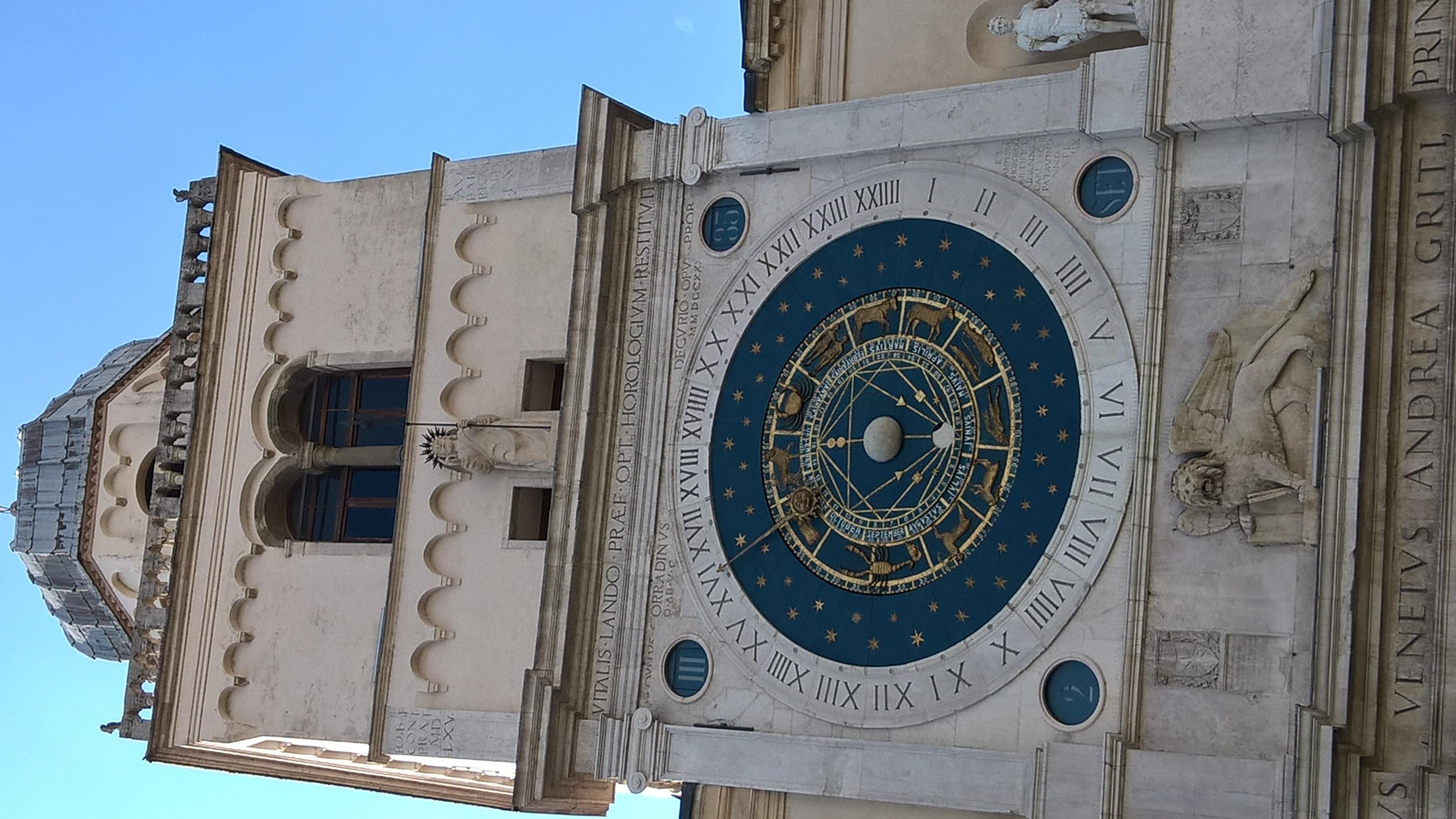 Zodiacal clock, Padova