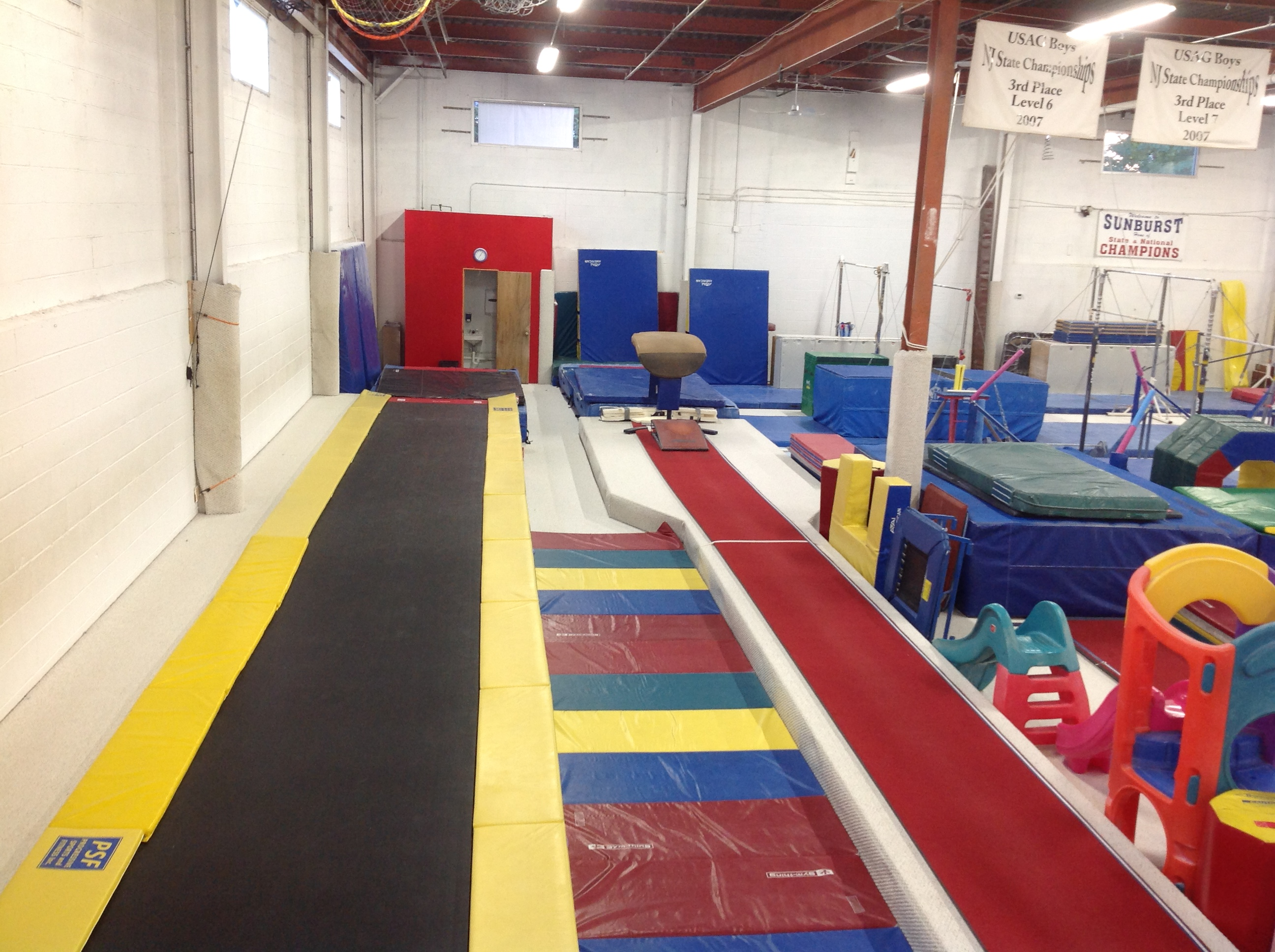Tumble Track and Vault Runway