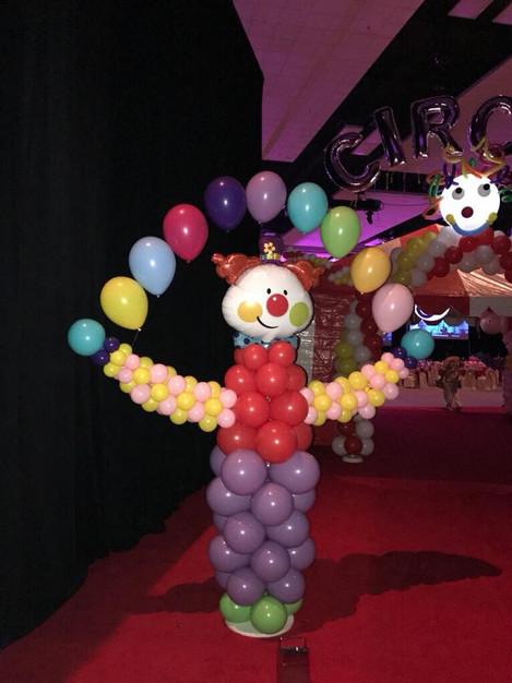 Juggling Clown Sculpture