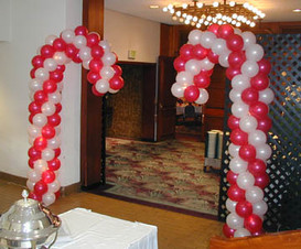 Candy Canes Entry Columns