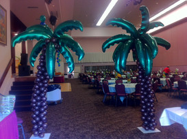 Palm Tree Sculpture Entry