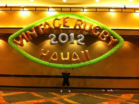Vintage Rugby Signage