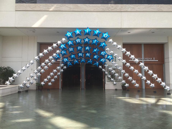 5 strand Pearl arch Entry Gate