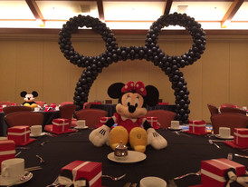 Mickey Mouse Ears arch