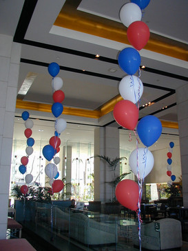 Fourth of July at Hawaii Prince Lobby