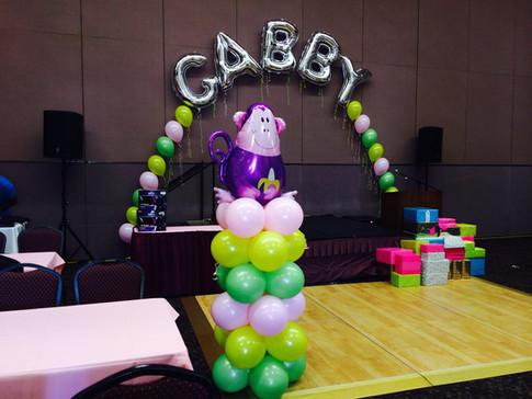 Gabby baby luau