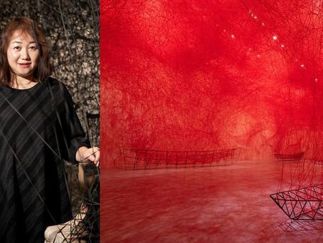 以生命之線撼動靈魂|塩田千春「顫動的靈魂」特展