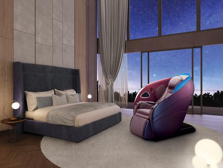 打造夢想中的私密養身會館|OSIM 5感養身椅給你全方位舒適享受