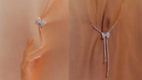 讓一隻秋蝶暫停在身上|DE BEERS 全新 Butterfly高級珠寶系列