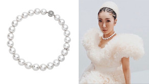回顧東奧開幕式最美嬌點|彩虹女神米西亞搭配超吸睛珍珠項鍊獻唱國歌