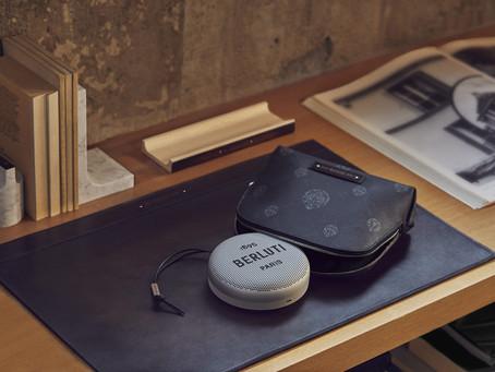 匠心打造,精彩視聽享受|BERLUTI與B&O聯手推出限量音響設備