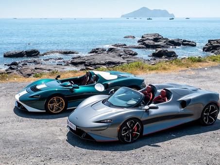 實踐美好嚮往的極致性能車款|McLaren Elva前擋版本馭風抵台