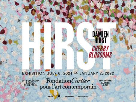 繽紛絕美,燦爛盛放|卡地亞當代藝術基金會舉辦達米恩.赫斯特特展