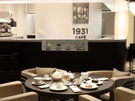 品飲香濃咖啡,體驗裝飾藝術的美好 積家於上海開設1931 CAFÉ