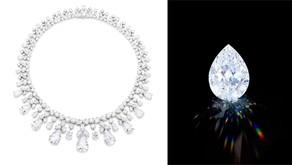 香港蘇富比「永恆璀璨之鑽」拍賣會|海瑞溫斯頓巨鑽項鍊可望首創高級品牌以加密貨幣支付紀錄