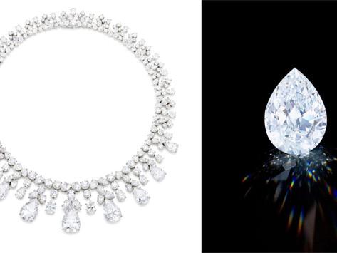 香港蘇富比「永恆璀璨之鑽」拍賣會 海瑞溫斯頓巨鑽項鍊可望首創高級品牌以加密貨幣支付紀錄