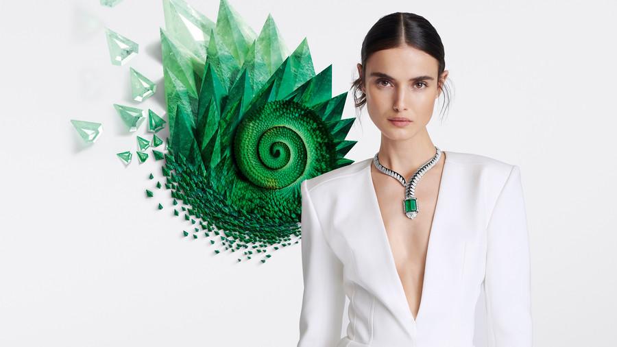 卡地亞[SUR]NATUREL頂級珠寶|以抽象美學形塑非凡自然