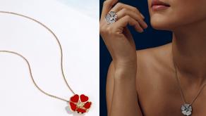 用『心』拼成愛的花朵|CHOPARD 蕭邦的Happy Hearts Flowers