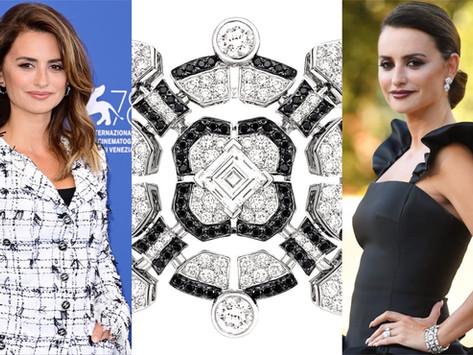 潘妮洛普的雙面風情|威尼斯影展紅毯珠寶焦點