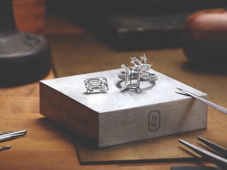 創作專屬幸福象徵|海瑞溫斯頓首度推出訂製鑽戒服務