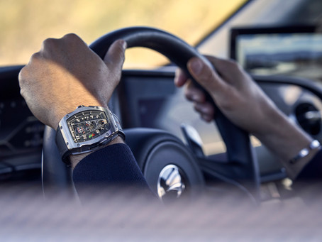 展演極致機械藝術 RICHARD MILLE推出RM 40-01 McLaren Speedtail限量腕錶