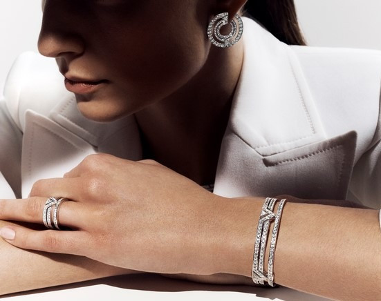 大膽霸氣   招牌V字設計| 路易威登全新高級珠寶PURE V系列