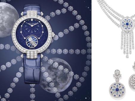 藍色是最溫暖的顏色 經典溫斯頓藍色珠寶及腕錶
