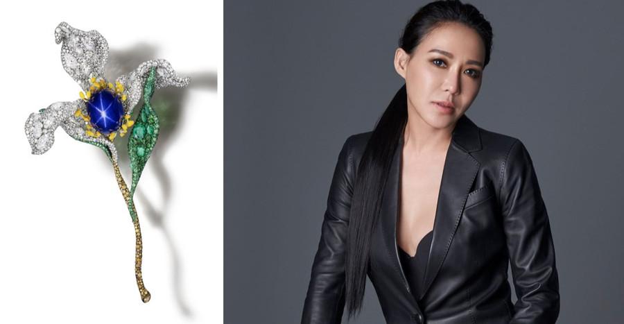 耀眼的花之精靈|CINDY CHAO大師系列新作品榮獲英國倫敦藝博會大獎