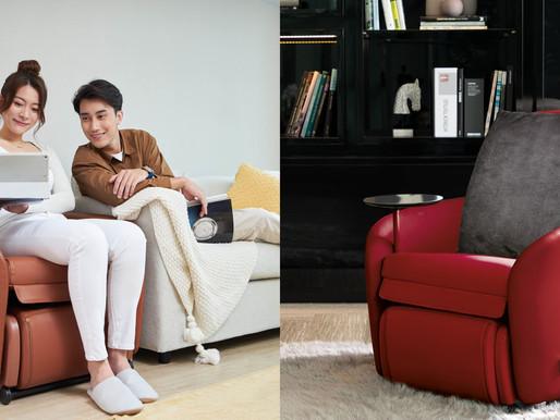 高智能小天后,帶給您放鬆與高質感生活 OSIM百變小天后智能沙發