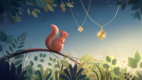 梵克雅寶又來「種草」囉!                         Alhambra 系列再添四款幸運草長鍊新作