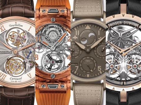 台灣最大鐘錶盛會 陣容龐大新品齊聚台北101頂級珠寶腕錶大賞線上活動