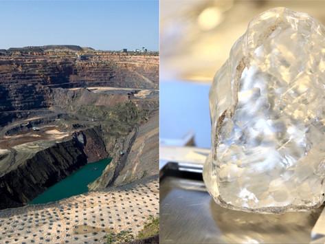 1,098克拉巨鑽橫空出世 波札那宣布發現全世界第三大鑽石原石!