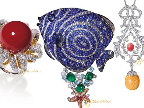 熱情豔夏  海洋幻境|盤點 GLAMOUR 今夏最吸睛的海洋主題珠寶