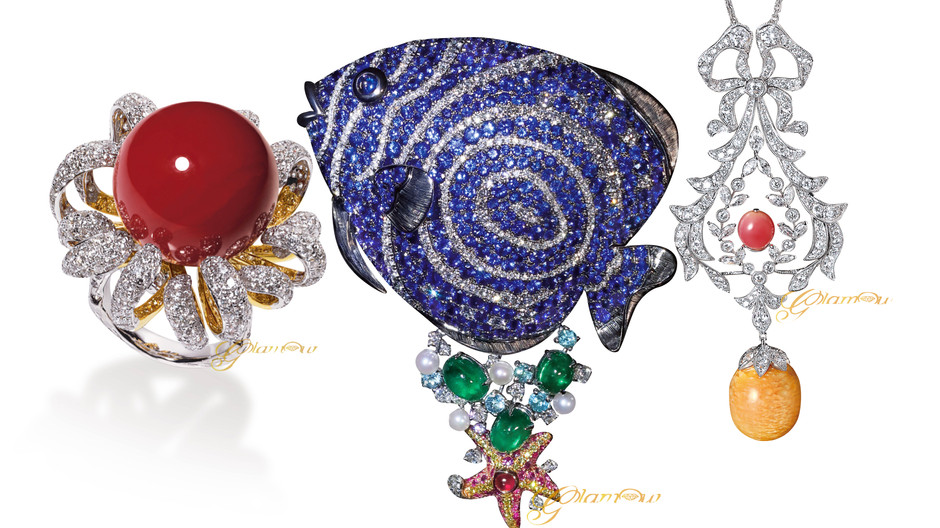 熱情豔夏  海洋幻境 盤點 GLAMOUR 今夏最吸睛的海洋主題珠寶