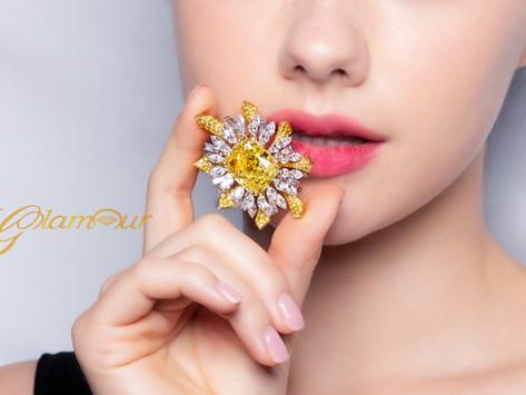 彩鑽投資的熱鬧與門道 盤點 GLAMOUR 最值得收藏的四種瑰麗彩鑽