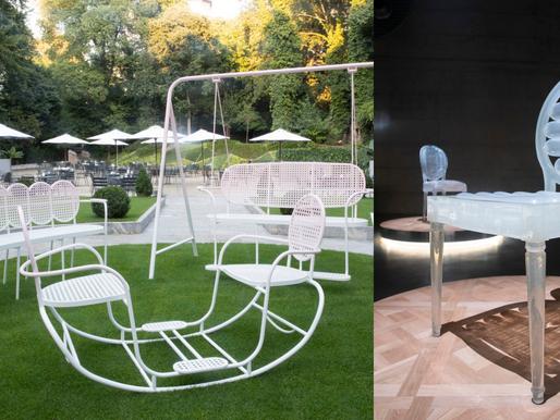 『椅』藝術對話時尚  DIOR MAISON 米蘭家具展圓背椅子系列