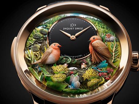 工藝美學極致 雅克德羅報時鳥三問自動玩偶腕錶300週年紀念款超限量上市