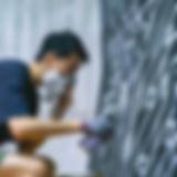 01.萬寶龍邀請台灣塗鴉界的藝術先鋒REACH,為快閃店進行塗鴉創作.jpg